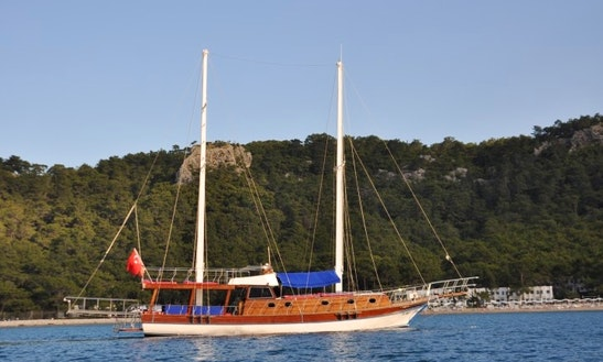 Charter 59' Gulet In Göynük Belediyesi, Antalya