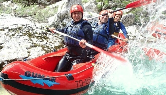 Guided Mini Rafting Trips In Bovec, Slovenia