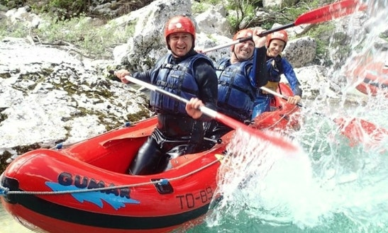 Enjoy Mini Rafting Trips In Bovec, Slovenia