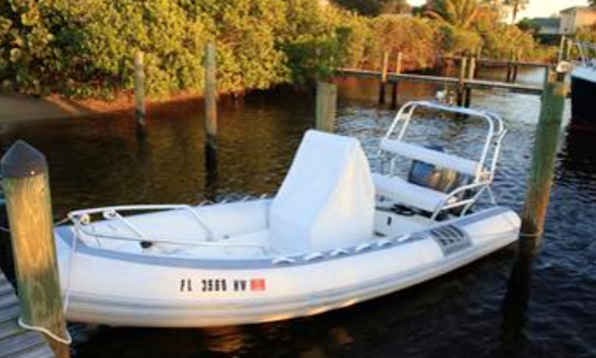 18' Novurania Rib Rental In Jensen Beach, Florida