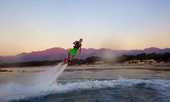 Enjoy Flyboarding In Marigot, Saint Martin