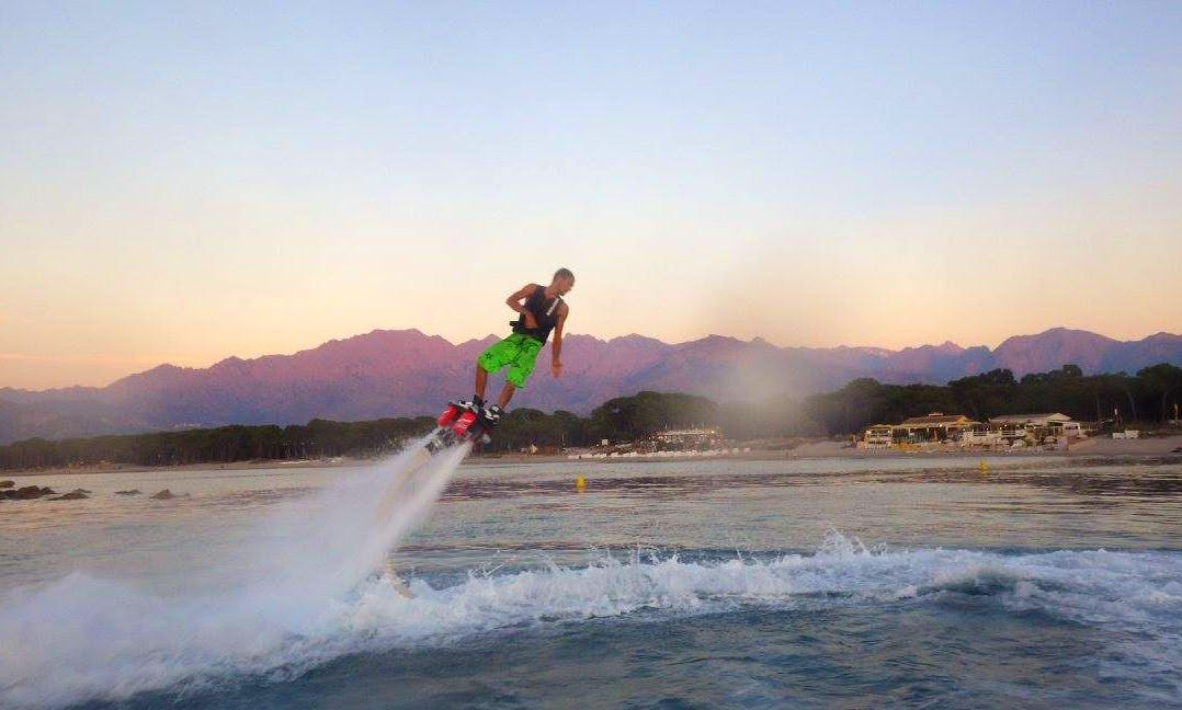 Flyboarding Ride in Marigot, Saint Martin