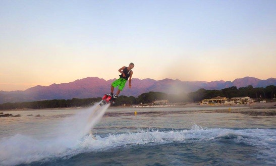 Enjoy Flyboarding In Marigot, Saint Martin