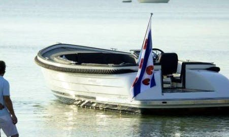 Rent 25' Ms Alexia Canal Boat in Workum, Friesland