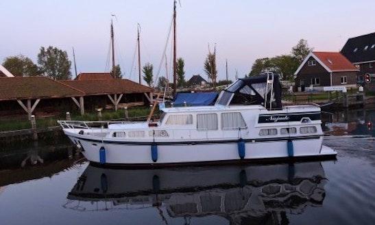 Charter 39' My Najade Motor Yacht In Workum, Friesland