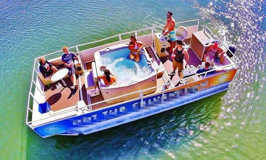 Enjoy Hot Tub Cruising Boat In San Diego