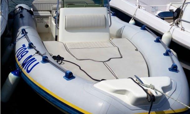 Rent 18' Marlin Rigid Inflatable Boat in Murter, Šibenik