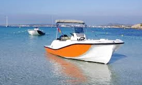 Hit The Water Of Port D'alcudia, Spain - Rent This V2 5.0 40hp Center Console Boat