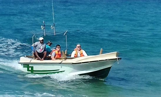 Enjoy Fishing In Tangalle, Southern Province On Dinghy