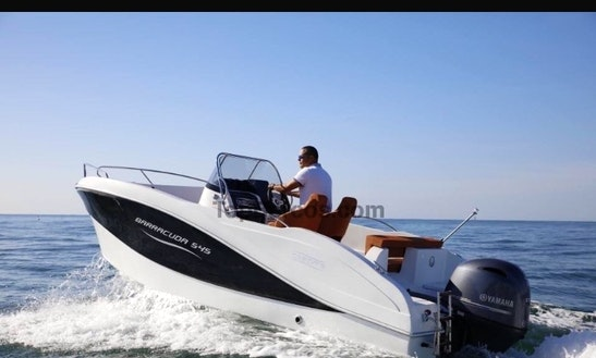 Rent A 7 Person Barracuda 545 Open Deck Boat In Trogir, Croatia