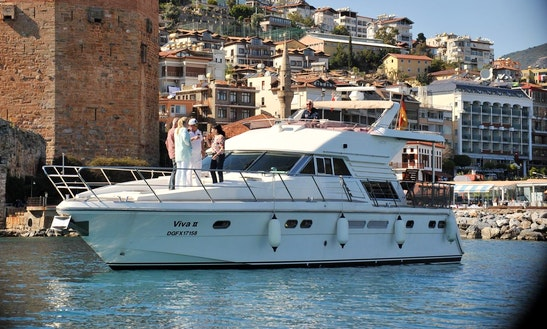 Charter Viva Ii Motor Yacht In Antalya, Turkey