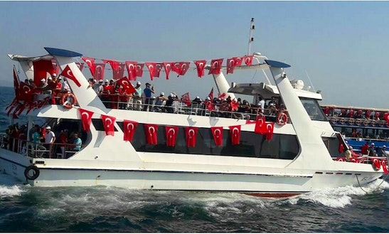 Charter A Passenger Boat In İstanbul, Turkey For Up To 100 Person