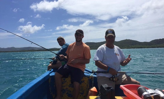 Enjoy Fishing In Cabo Rojo, Puerto Rico On A Center Console