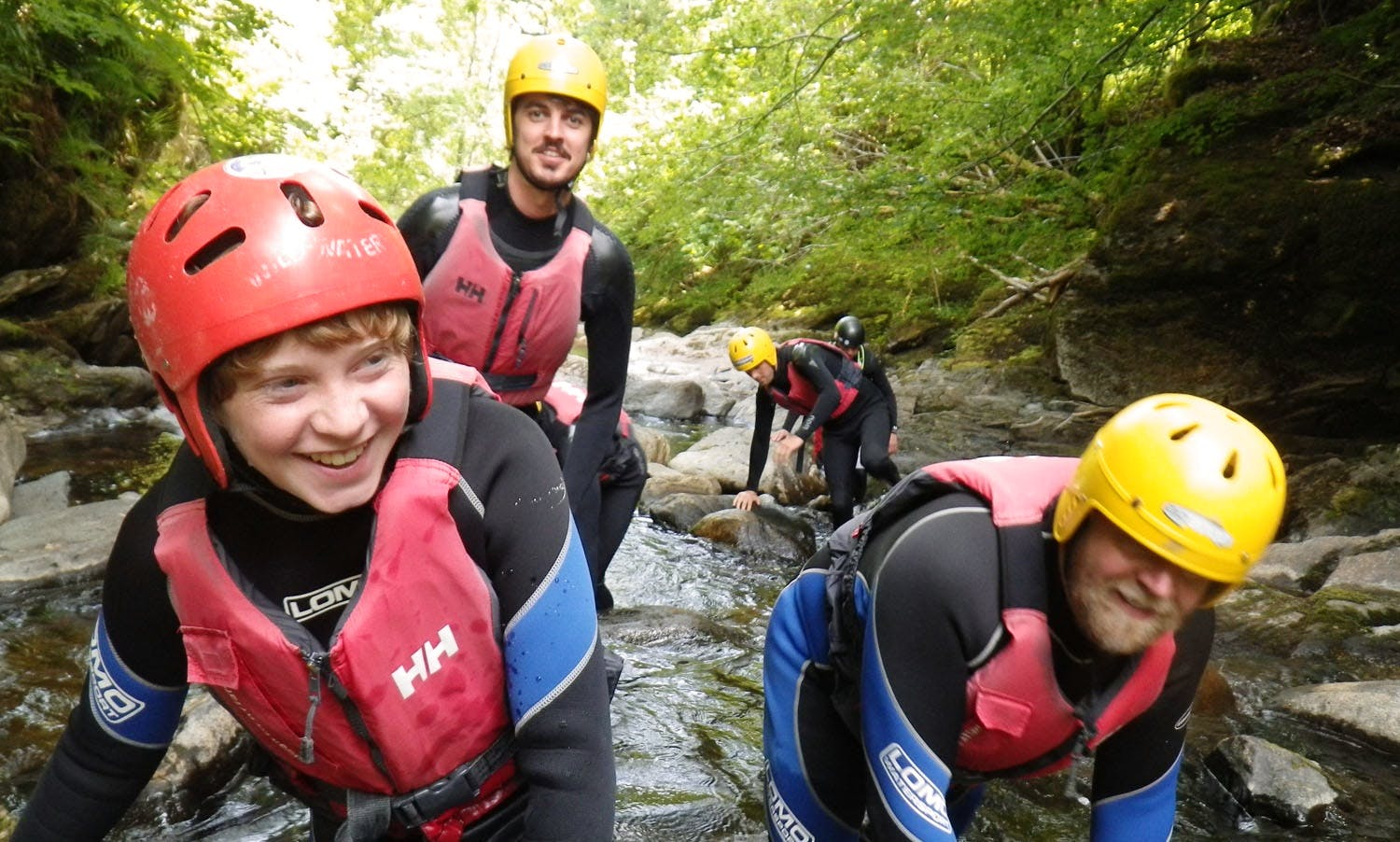 Rafting and Canyoning in Aberfeldy, Scotland
