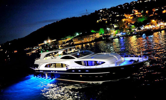 Charter 105' Power Mega Yacht In İstanbul, Turkey