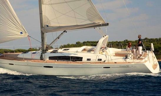 Charter 51' Oceanis Family Aida Cruising Monohull In Muğla, Turkey