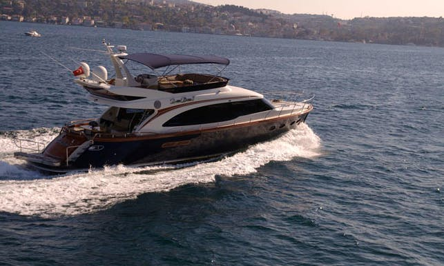 Charter 62' Windsong 7 Power Mega Yacht in İstanbul, Turkey