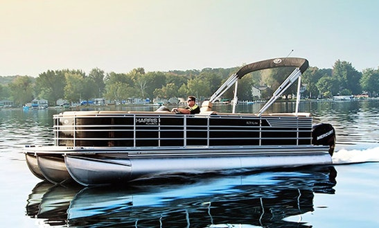 Harris Cruiser Pontoon Rental In Traverse City - Delivery Available
