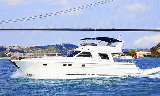Charter 71' Power Mega Yacht In İstanbul, Turkey
