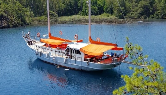 Charter 72' Arancia Gulet In Bodrum, Turkey