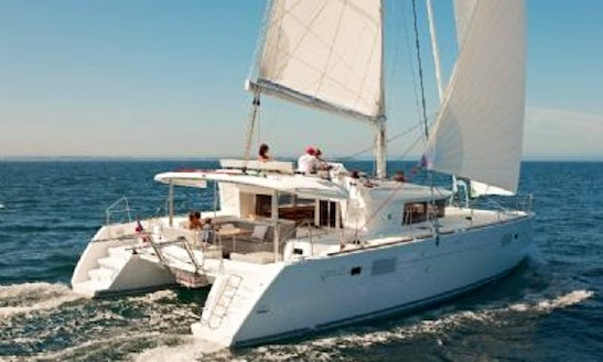 Charter 45' Cruising Catamaran In Mugla, Turkey