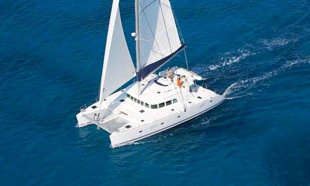 "Charter 51ft ""Azeta II"" Lagoon Cruising Catamaran in Sicily, Italy"