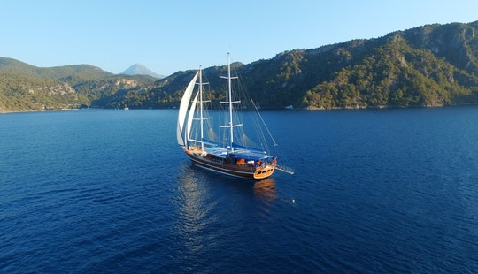 Sailing Gulet In Fethiye Muğla Turkey (soğlu 4) Ask For Available Dates