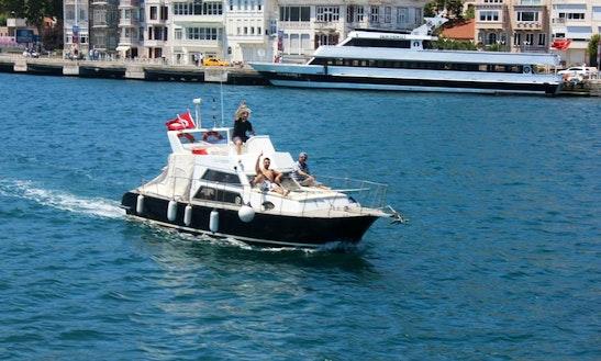 Enjoy Sightseeing In Istanbul, Turkey On Motor Yacht