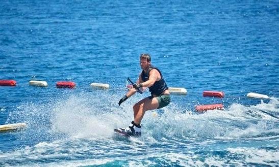 Enjoy Water Skiing In Bodrum, Muğla