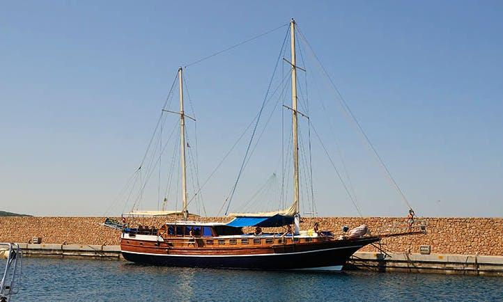 "Charter 79ft ""Atlantik III"" Sailing Gulet in Sardinia, Italy"