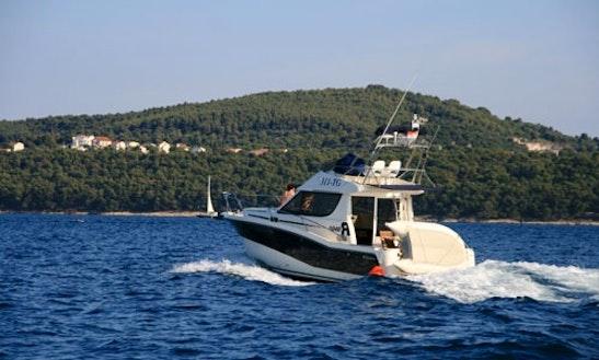Rent The 34ft Rodman Power Boat With A Skipper In Trogir, Croatia