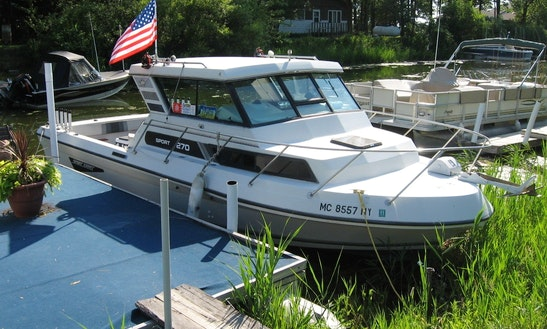 27ft Sportcraft Fishing Boat In Bay City, Michigan