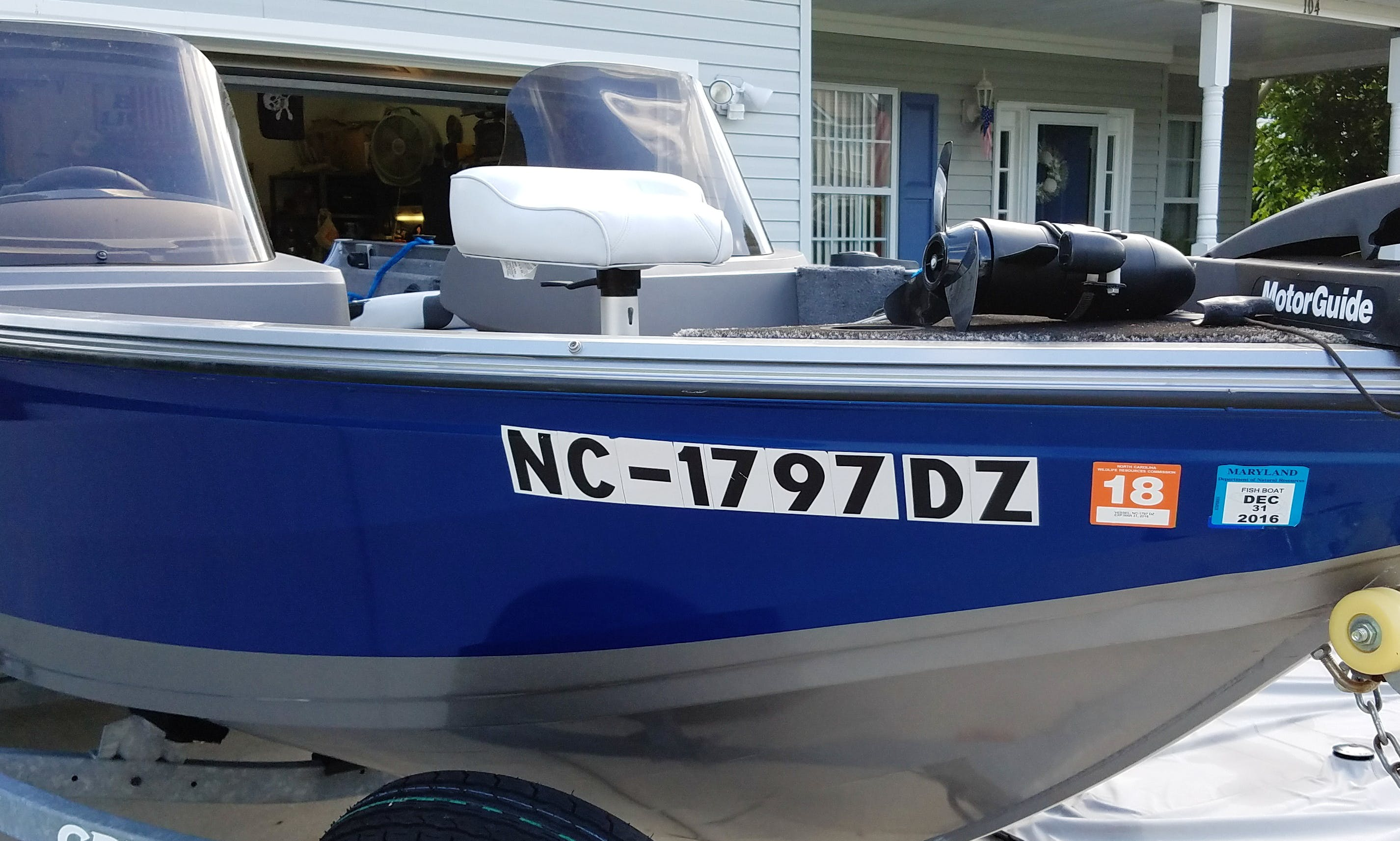 "17ft 'Lucky Lady"" Center Console Rental In Virginia Beach, Va"