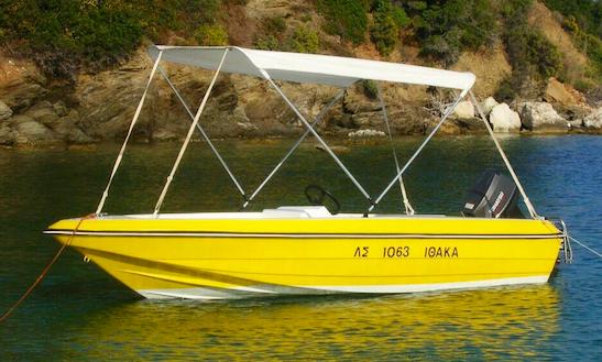 Rent A Bowrider At Ahladies Beach, Sporades