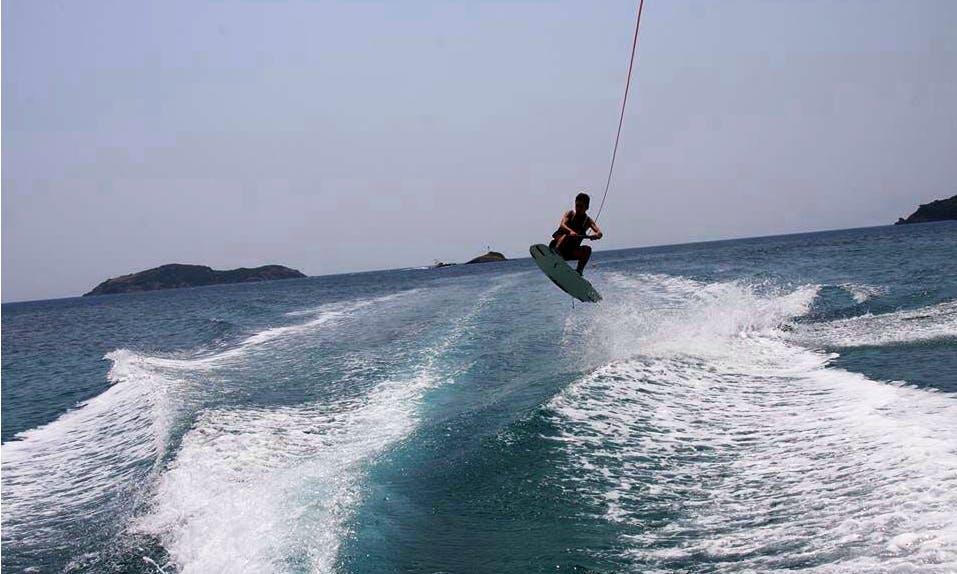 Enjoy Wakeboarding at Ahladies Beach, Sporades