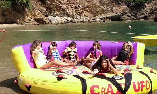 Enjoy Sofa Rides At Ahladies Beach, Sporades