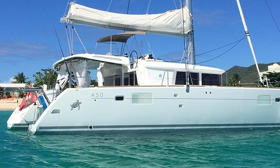 Charter 45' Lagoon Cruising Catamaran In Cape Town,  Western Cape
