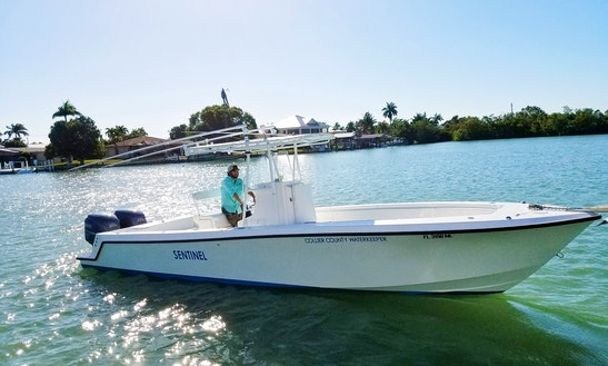 Enjoy cobia boat fishing charter in cape coral florida for Cape coral fishing charters