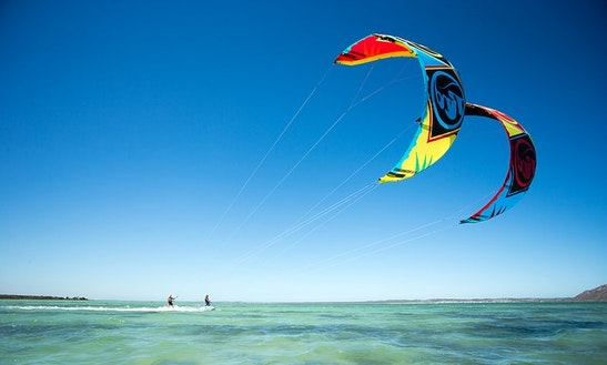 Enjoy Kitesurfing Courses In Lagoa De Albufeira, Portugal