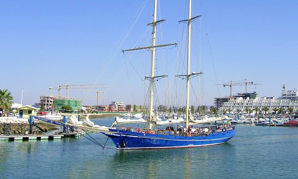 Enjoy Faro, Portugal on 112' Schooner