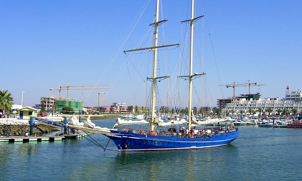 Enjoy Faro, Portugal on 112' Schooner