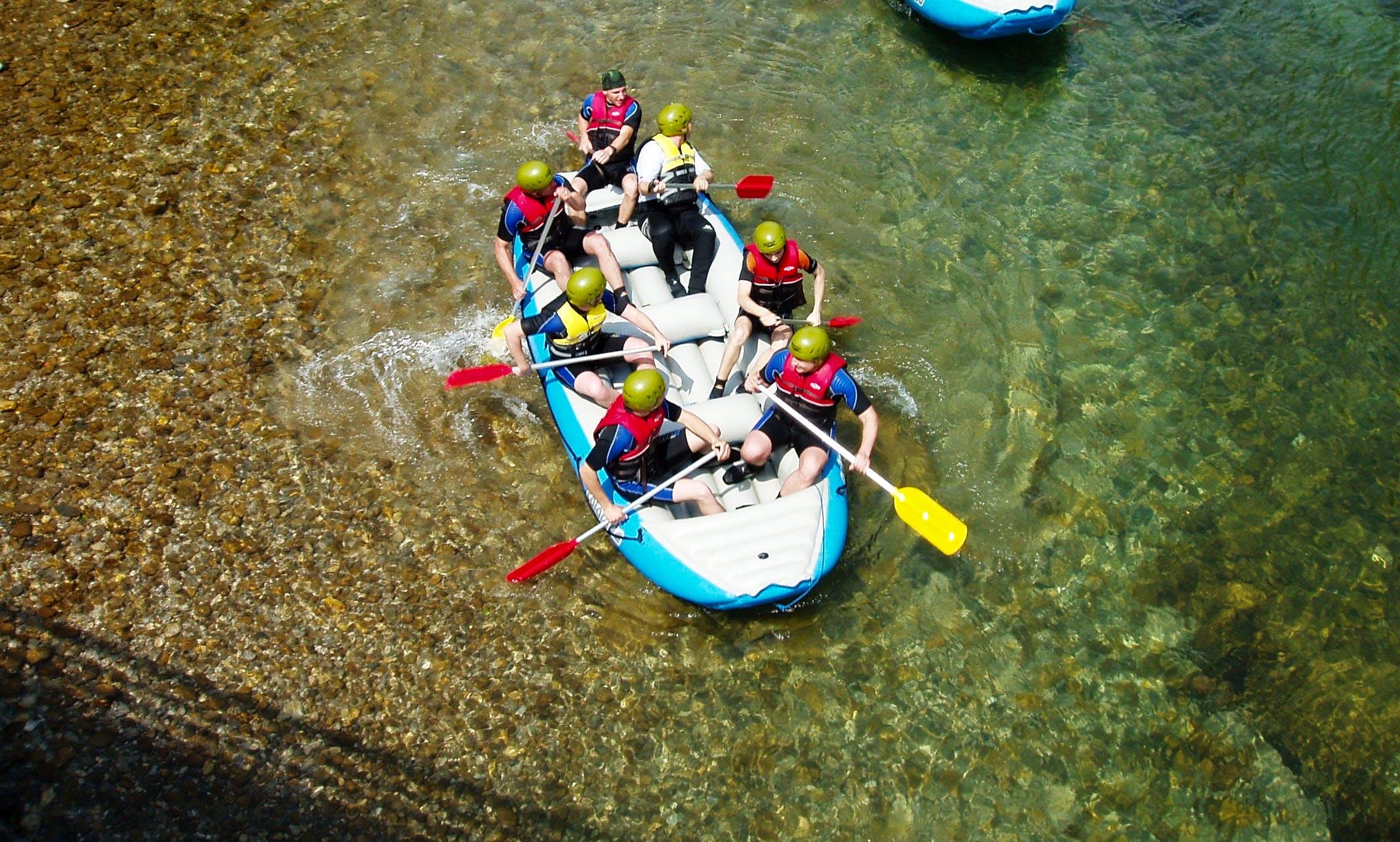 White Water Rafting On Kupa River - Brod na Kupi, Croatia