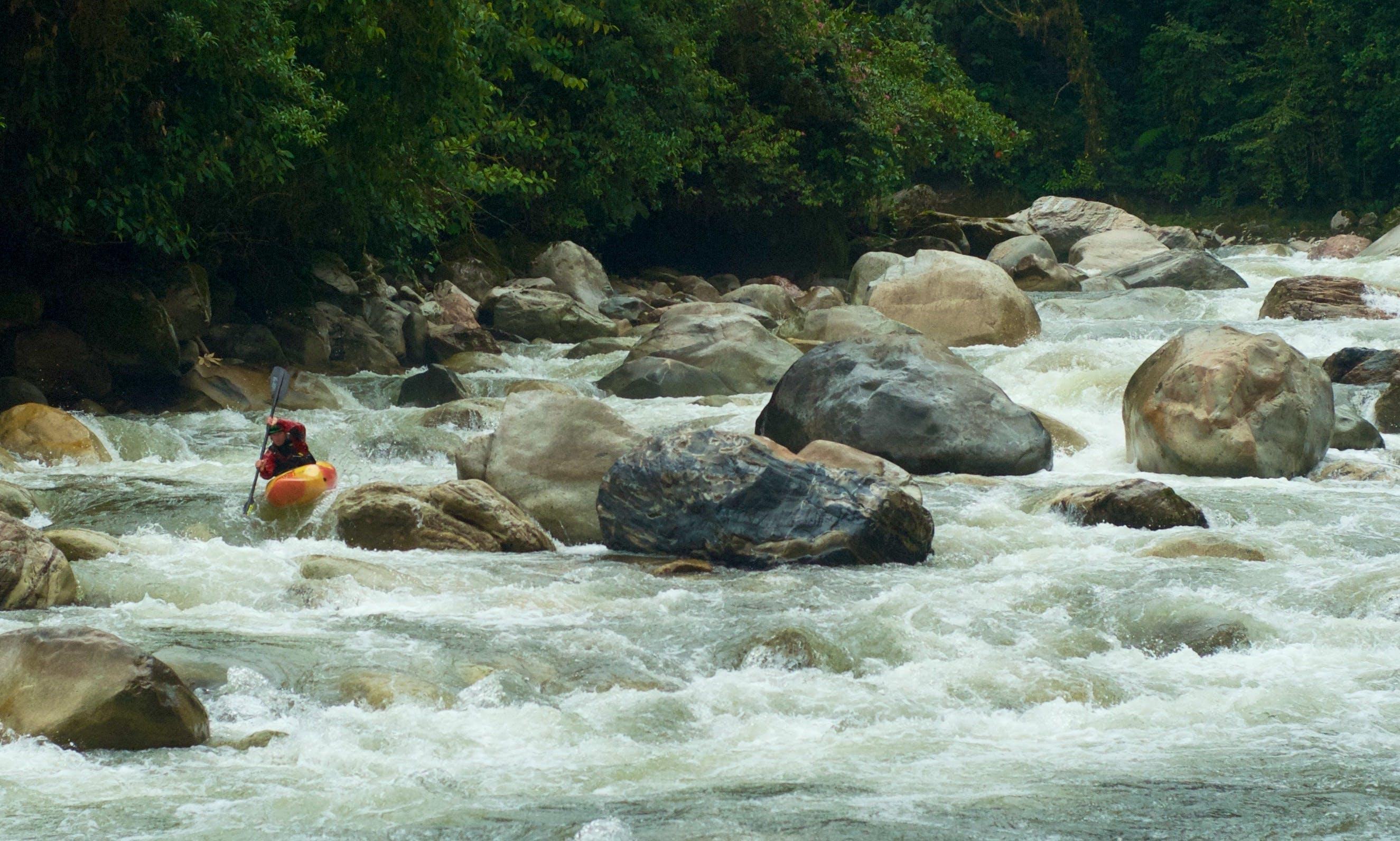 Whitewater Kayak Rental in Baeza, Ecuador
