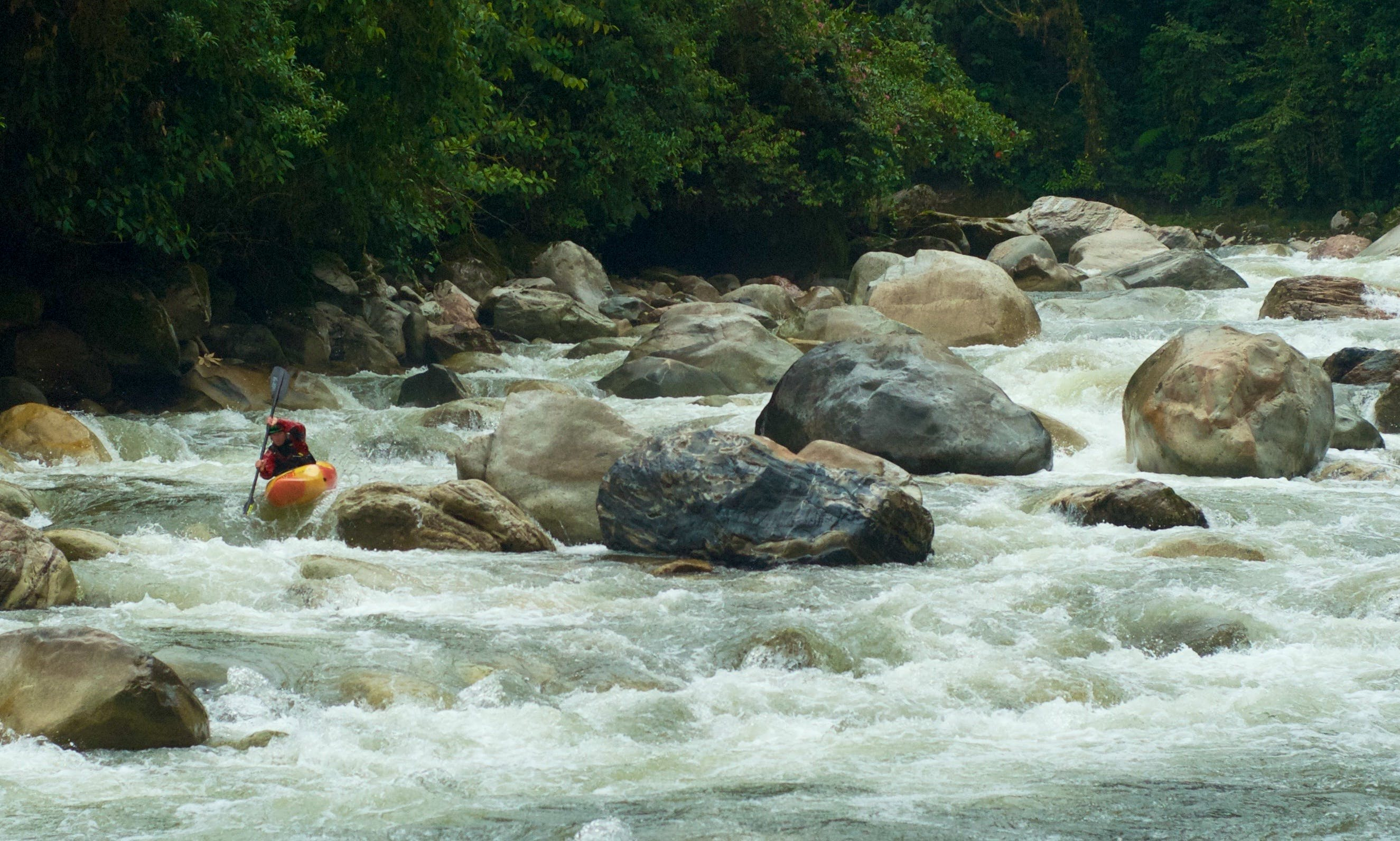 Whitewater Kayak Rental in Baeza, Ecuador
