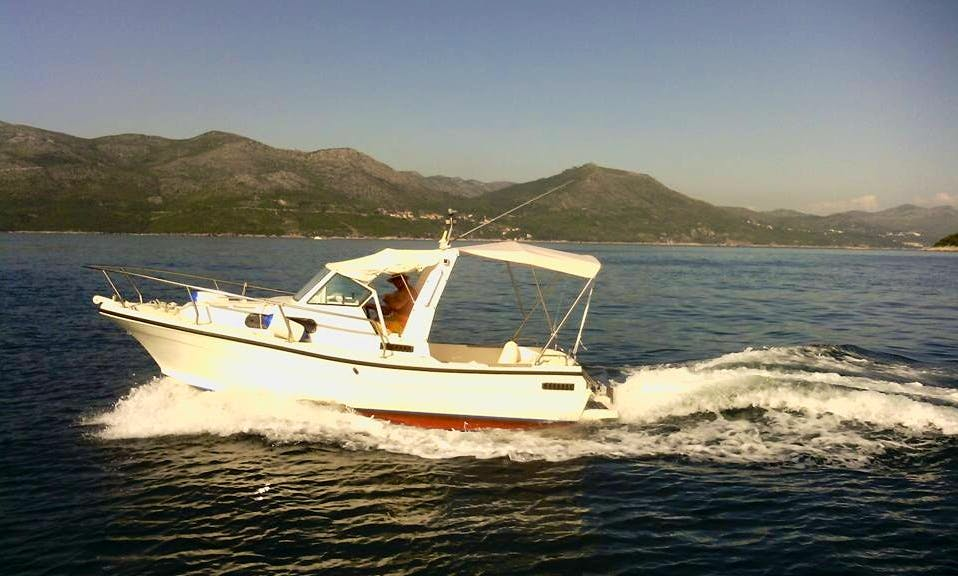 Rent this Paguro Cuddy Cabin Boat in Dubrovnik, Croatia