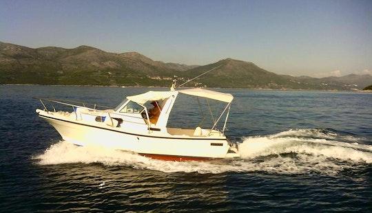 Rent This Paguro Cuddy Cabin Boat In Dubrovnik, Croatia