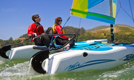 13' Hobie Cat Wave Rental In Calp, Spain