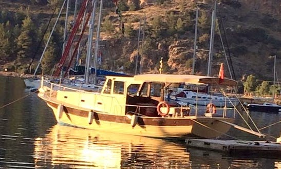 Relax On The Water With This Classic Motor Gullet In Muğla, Turkey