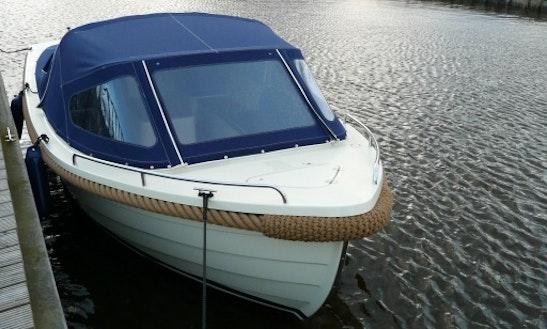 Rent 16' Cruiser 500 Canal Boat In Lokeren, Vlaanderen