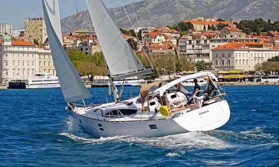 Charter 45' Klaudija Elan Impression Cruising Monohull In Split, Croatia